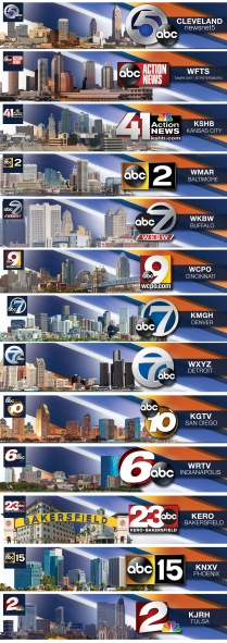 Youtube Banners for Scripps News Channels